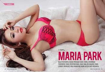Maria Park Hot Di Majalah Babes