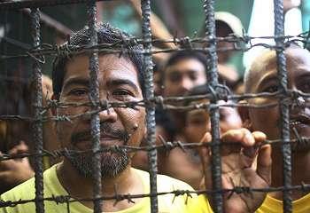 Kelompok bersenjata serbu penjara Filipina, ratusan napi kabur