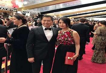 Hary Tanoe dan Liliana Tanoesoedibjo Tampil Menawan di Red Carpet Oscar 2017