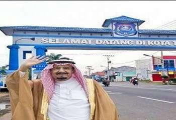 RAJA SALMAN: Saat Raja Salman Berkunjung ke Tegal