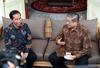 Ani Yudhoyono Unggah Video Pertemuan Jokowi dan SBY di Instagram